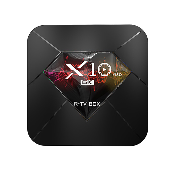 R-TV BOX X10 PLUS Allwinner H6