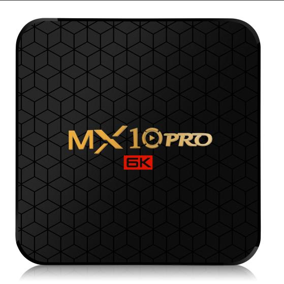 MX10 PRO allwinner h6 tv box