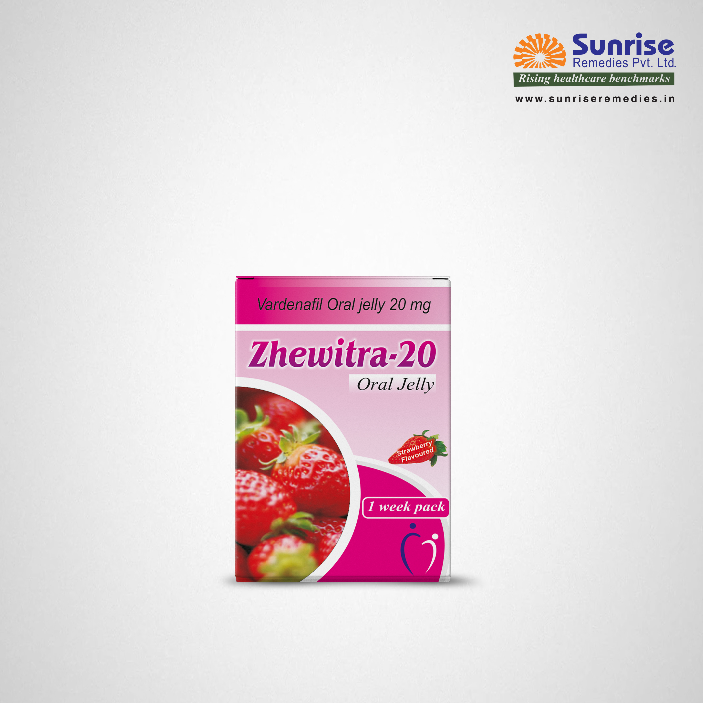 Zhewitra oral jelly | Vardenafil | Sunrise Remedies