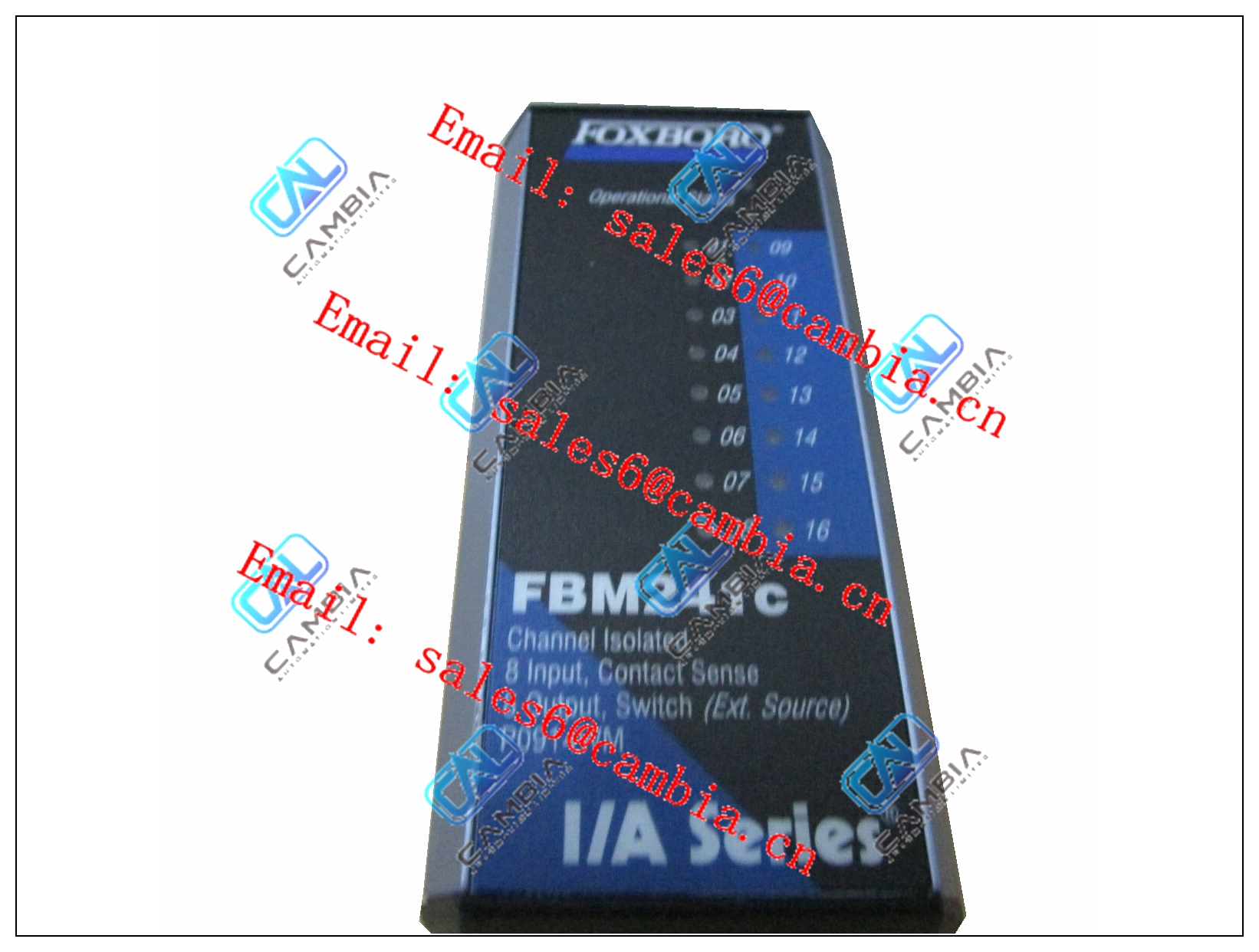 P0800DA	43 channel 24V dc Digital Input FTA