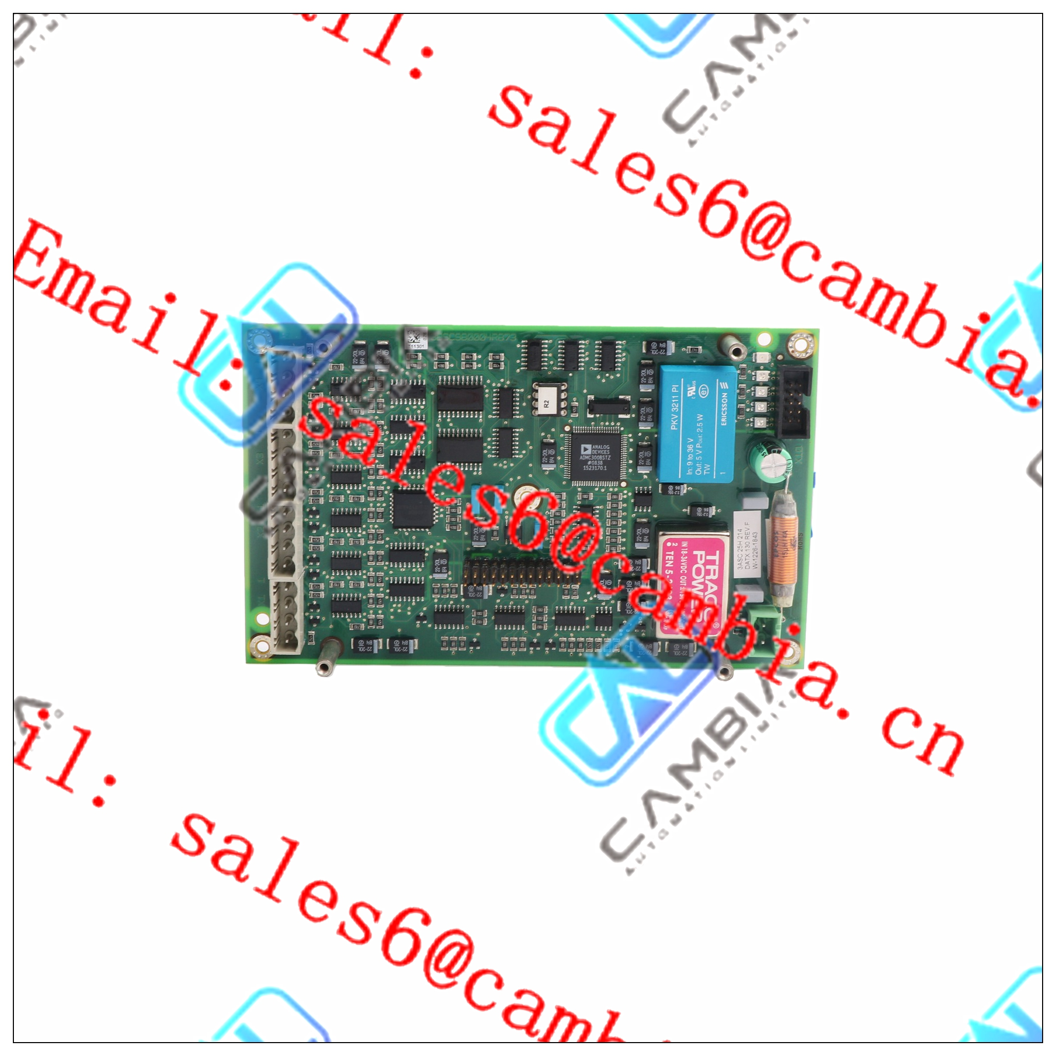 PM510V16  3BSE008358R1	40 channel 24V dc Digital Input FTA