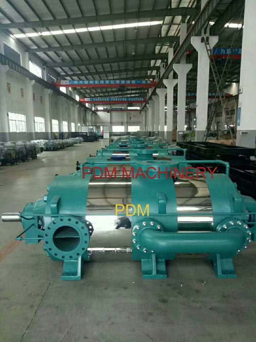 High pressure multistage pump