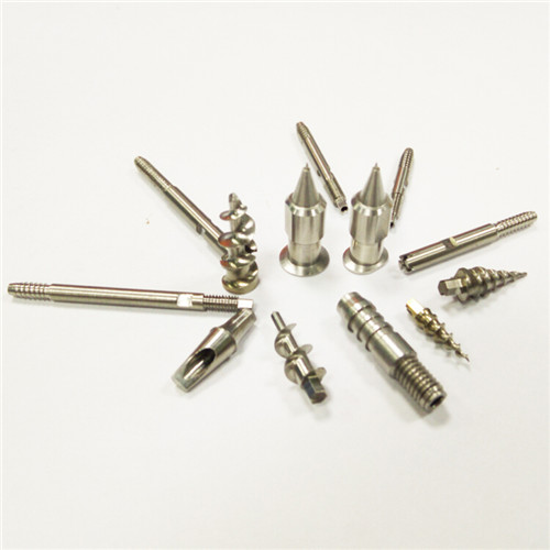 China factory high quality Precision machining service cnc titanium screw mechanical parts wholesale