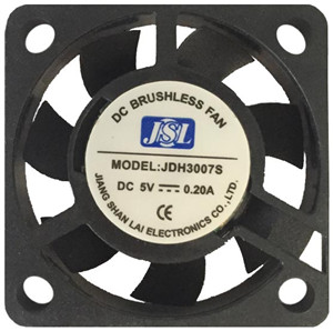 5V/12V factory direct supply plastic DC  Axial Fan JSL3007