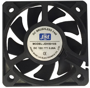 JSL factory direct supply plastic hot sale DC Axial Fan Exhaust Fan 5010