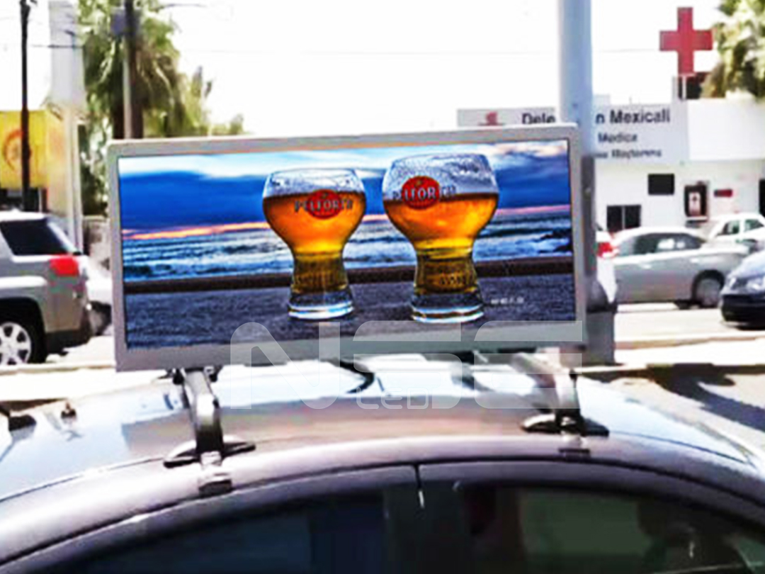 P5 Outdoor Vehicles LED In Mexico  Taxi LED Display  TAXI TOP Sign