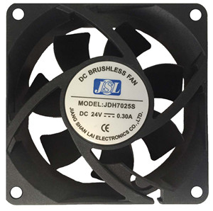 JSL factory direct supply plastic hot sale DC Axial Fan Ventilation Fan 7025