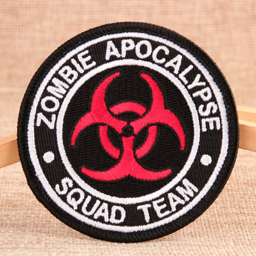 Zombie Apocalypse Cheap Custom Patches