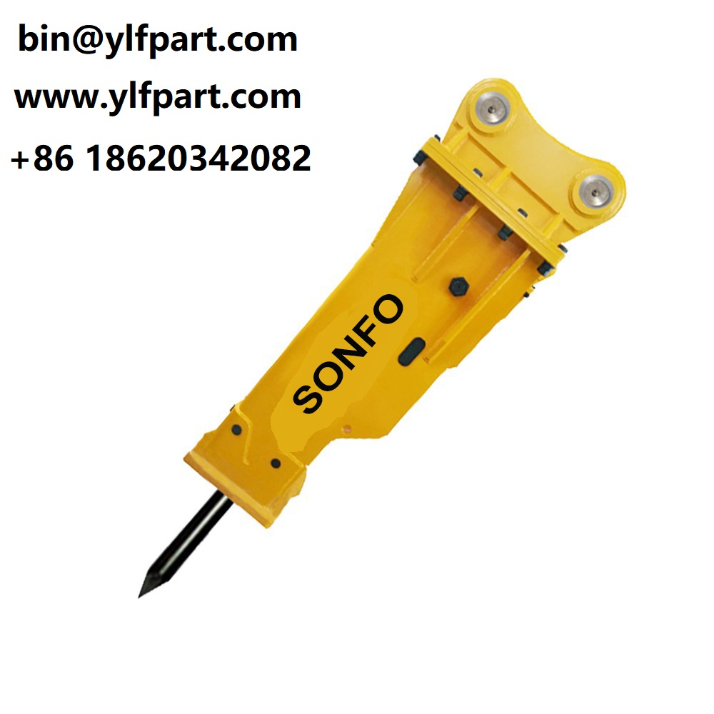 New excavator spare parts Jack hammers FINE hydraulic rock breakers for backhoe loader 4dx  JCB 3CX