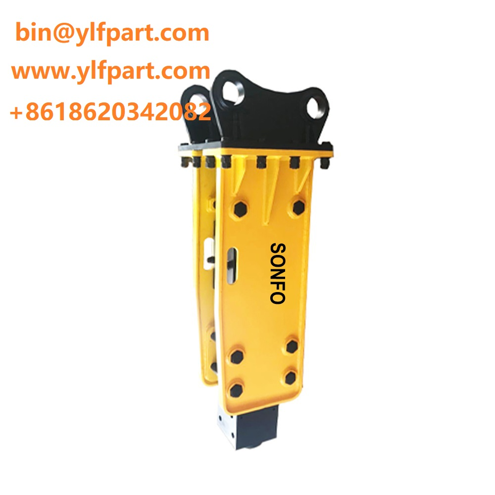 SB40 soosan side type hydraulic rock breaker hammer for mini excavator
