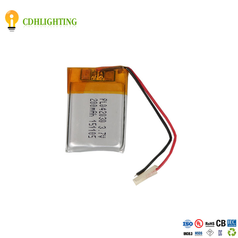 Electronic Products 1S1P PL042030 3.7V 200mAh Batteries Lithium Ion