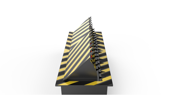 Hydraulic Road Blocker Model No. ZOJE-RD3000
