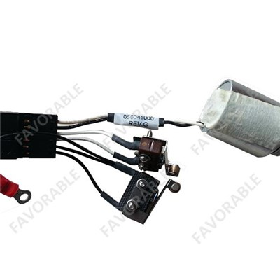 56041000 PLOTTER ELECTRIC SOLENOID VALVE with X-CARRIAGE CableS and WHIP