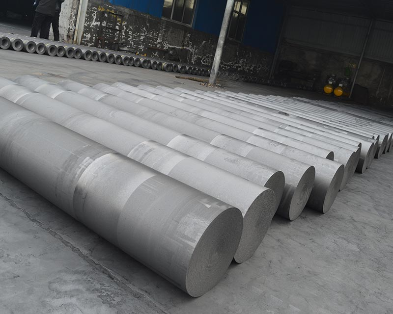 China HP Graphite Electrodes For EAF & LF With Low Resistance