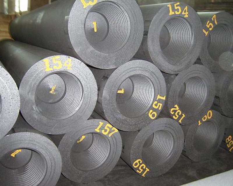 Ultra High Power Graphite Electrodes Made of High Quality Needle Coke