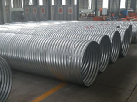 Hel-Cor Galvanized Corrugated Steel Pipe