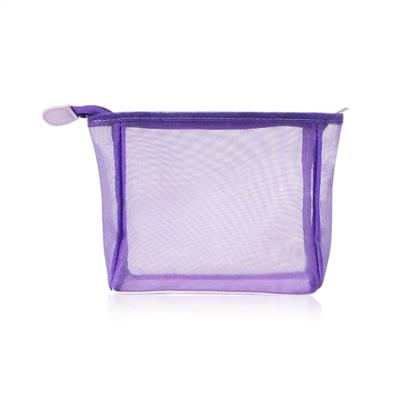 Nylon Mesh Cosmetic Bag