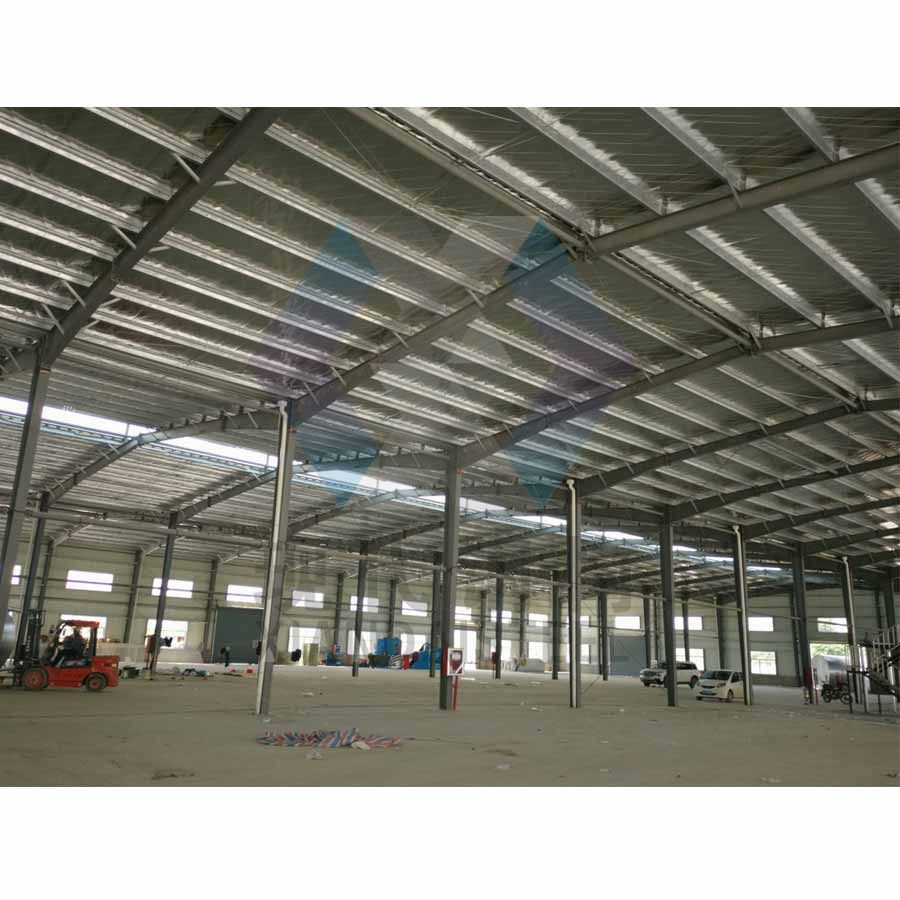 100sqm-10000sqm Steel Structure Hangar/Warehouse