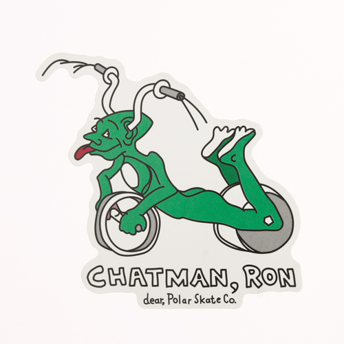Custom Stickers No Minimum | Polar Ron Chatman Stickers |  ™