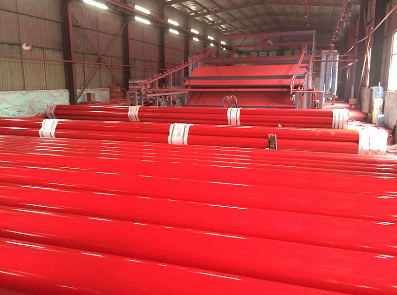 Painted Pipe hermal Insulation Pipe factory