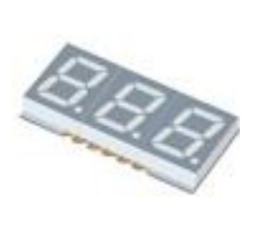 Three Digit LED Display