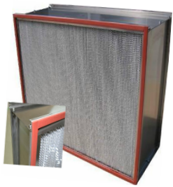 YL-H12/H13/H14  High fire protection High temperature and high efficiency filter.