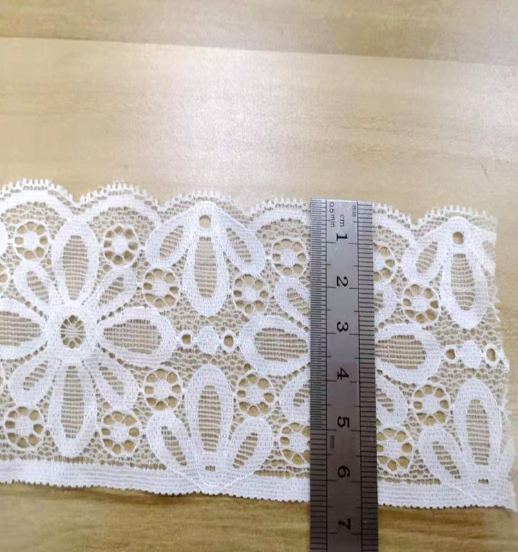 french wedding 3d flower crochet border lace trim embroidery