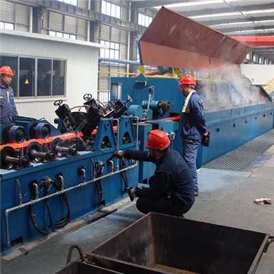 Copper Rod Continuous Casting and Rolling Production Line