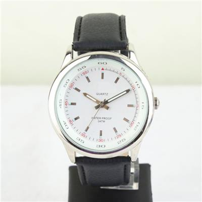 PU Leather Wrist Watch For Men