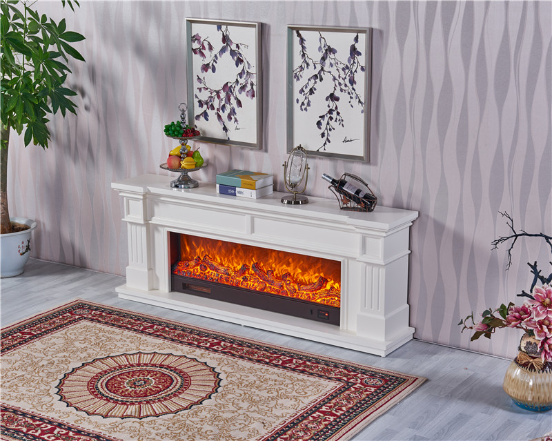 Ce Approved wooden Home Furniture LED Lights Electric Fireplace