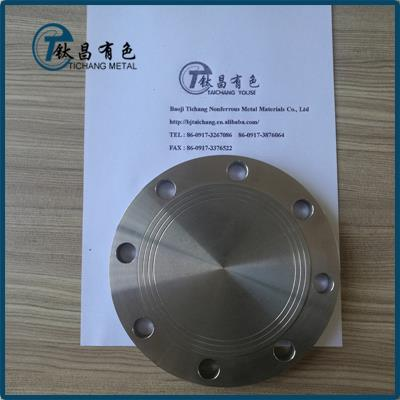GR9 Titanium Alloy Blind Flanges