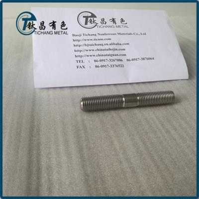 GR5 Titanium Alloy Double End Bolts