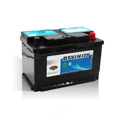 12V 72ah Storage Car Battery