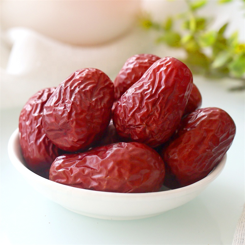 Natural food Dried Red Dates Roasted XinJiang Hetian Jujube