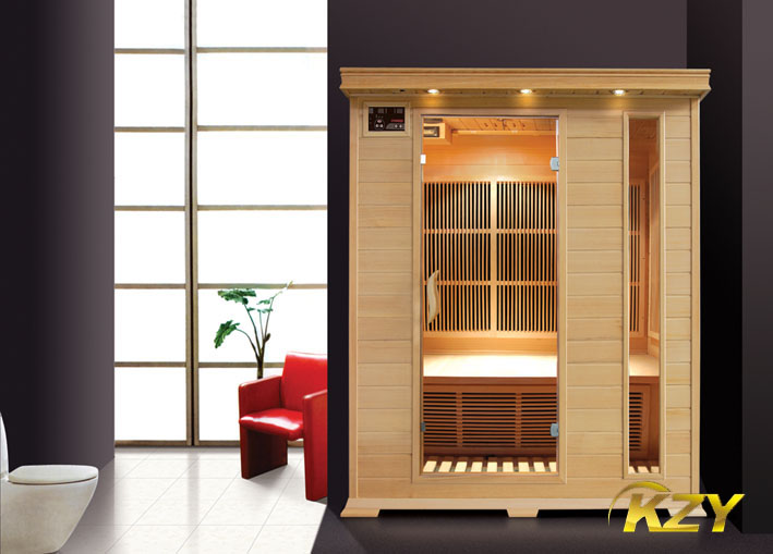 sauna(4 person)dry sauna room with high quality and compeitive price