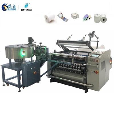 Carbonless Paper Slitting Machine