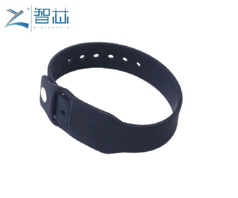 Pocket Silicone RFID Wristband with Replacing RFID Tag,Silicone RFID Wristband