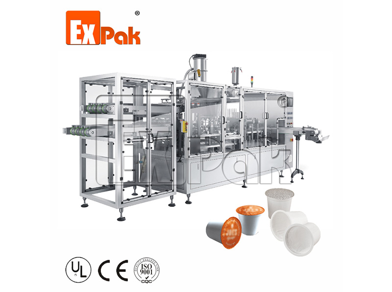 Linear Type Kcup Filling Sealing Machine CP5002K/CP5004K