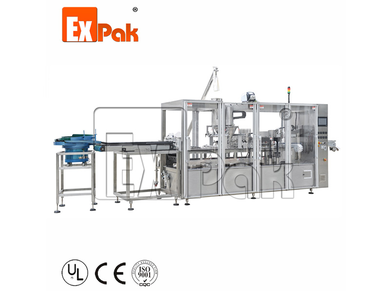 Six Lanes Coffee Capsule Filling And Sealing Machine CP5006