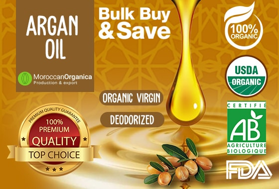 HIGH QUALITY ARGAN OILS CERTIFIED ORGANIC
