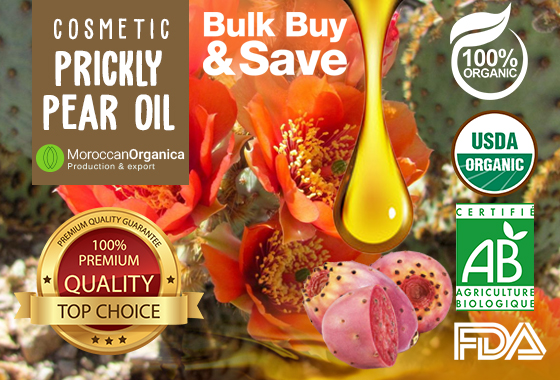 100% ORGANIC PRICKLY PEAR SEED OIL CERTIFIED