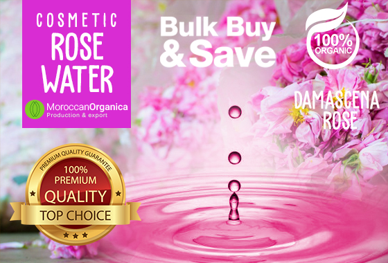 PURE NATURAL ORGANIC DAMASCENA ROSE WATER