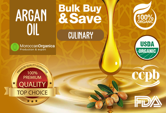 CULINARY ARGAN OIL CCPB CERTIFIED ORGANIC