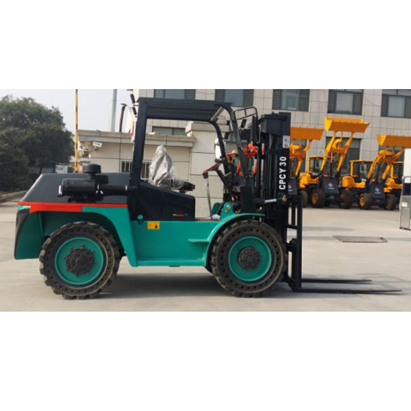 Rough Terrain and Articulated Forklift CPCY-30