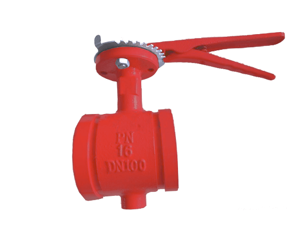 Fire Protection Groove end Concentric Butterfly Valve