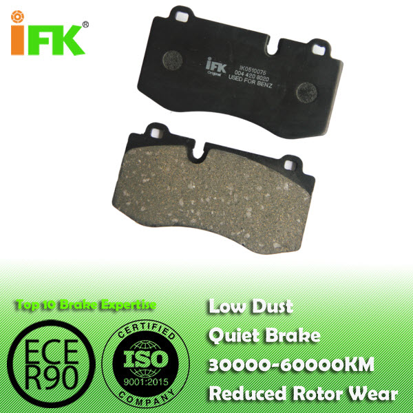 IK0510075:0024200320 GDB1733,D1223,MERCEDES-BENZ Disc Brake Pads Manufacturer