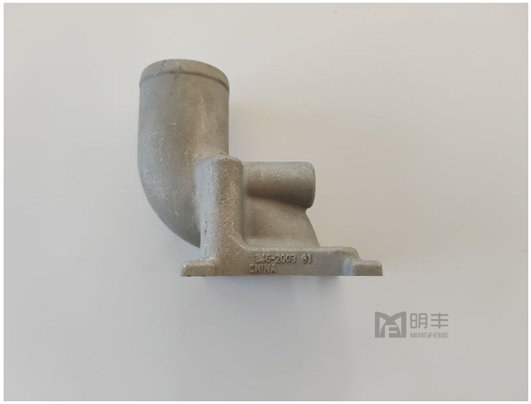 High quality custom aluminum gravity casting Exhaust Pipe
