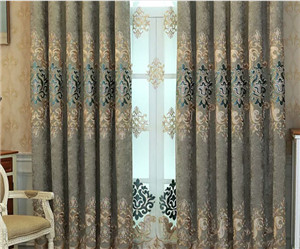 Factory Supply High Grade Soft and Drapely Simple Style Solid Fabric Sheer Window curtains