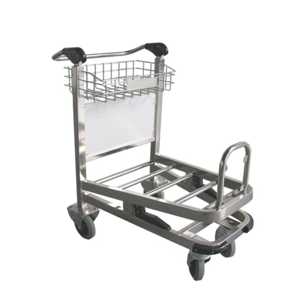 X415-BG5D Airport luggage cart/baggage cart/luggage trolley