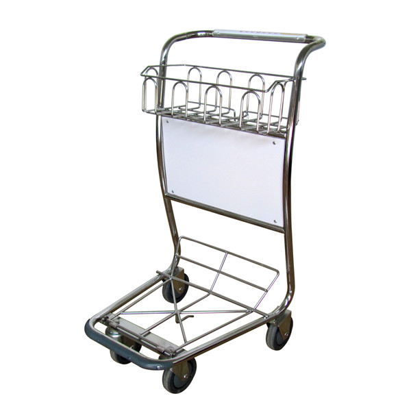 X415-BW8 Airport luggage cart/baggage cart/luggage trolley